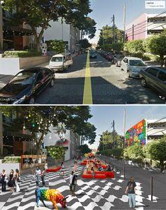 BELAS ARTES ESPM | antes e depois | Waldivo Junior