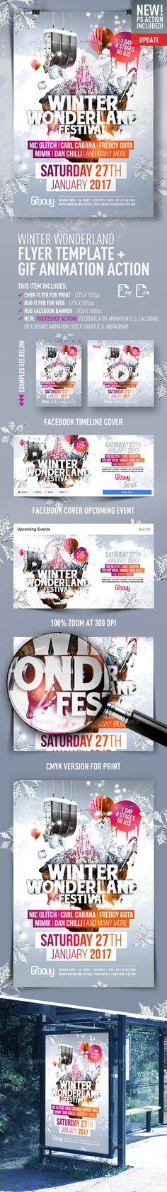 Winter Wonderland Festival  + GIF Animation Action