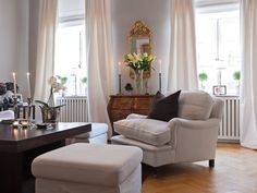 fancy schmancy living room decor