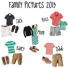 """""""Summer Family Pictures 2013"""" by alogsdon on Polyvore"""