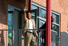 CORRUPT ,Former U.S. Rep. Jesse Jackson Jr. waves to the media as he leaves a halfway house Monday June 22, 2... - AP Photo/Jose Luis Magana