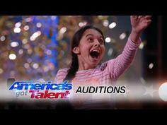Laura Bretan: Opera Singer Gets the Golden Buzzer - America' got Talent 2016 Auditions Talent Show, America's Got Talent, Laura Bretan, Spanish Song Lyrics, Nostalgia, Good Vibe, Opera Singers, 13 Year Olds, American Idol