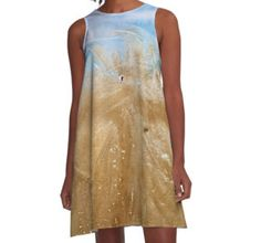 A-Line Dress Fashion for the beach by @ANoelleJay @redbubble starting at $84