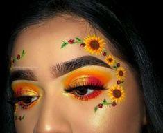 Makeup Eye Looks, Eye Makeup Art, Crazy Makeup, Cute Makeup, Glam Makeup, Eyeshadow Makeup, Makeup Style, 90s Makeup, Disney Makeup