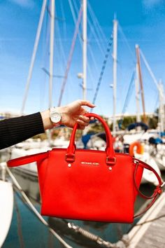 Selma Large by Michael Kors - red