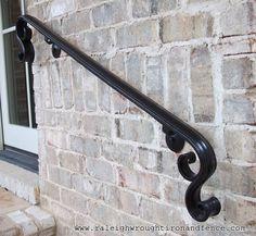 Best 8 Ft Wrought Iron Hand Rail Wall Rail Stair Step Railing 400 x 300