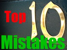 Top Ten Mistakes Newcomers Make At Storage Auctions