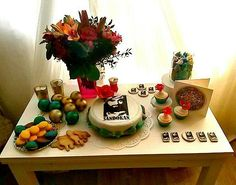 Birthday celebration - theme Sandokan