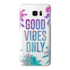 Transparent Tropical Summer Good Vibes Only  - iPhone 6s Case,iPhone 6... ($40) ❤ liked on Polyvore featuring accessories, tech accessories and android case