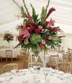 wedding reception flowers pictures   Finding Your Wedding Flowers and Reception Ideas