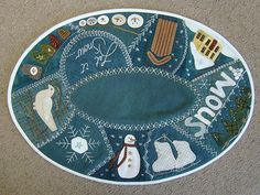 Hey, I found this really awesome Etsy listing at https://www.etsy.com/listing/207791937/wool-applique-pattern-winter-crazy-table