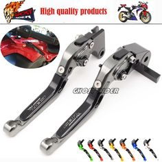 33.43$  Buy now - http://aliocw.shopchina.info/go.php?t=32786658493 - For HONDA CBR 1000RR 2004 2005 2006 2007 Motorcycle Adjustable Folding Extendable Brake Clutch Levers logo CBR1000RR  #aliexpresschina