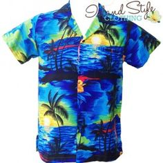 5eb30e9e5 BIG BOYS Tropical Clothing Matching Group Hawaiian Clothes Mens Hawaiian  Plus Sizes Aloha Shirt https: