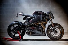 This Custom Buell XB9 Café Racer Is a Streetfighting Hooligan