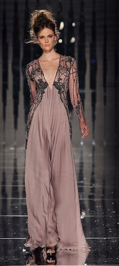 ABED MAHFOUZ COUTURE FALL/ WINTER 2011-12 COLLECTION  Love the color!