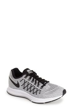 Nike 'Zoom Pegasus 32' Running Shoe (Women) available at pink pow/volt/black color #Nordstrom