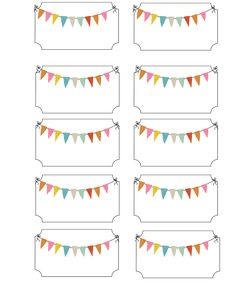 Bringing Home Ezra: More carnival party ideas and printable freebies Cute bunting labels Carnival Tickets, Carnival Themes, Circus Theme, Circus Party, Party Printables, Free Printables, Freebies Printable, Printable Name Tags, Printable Tickets
