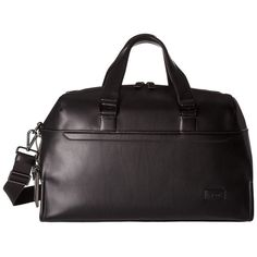 Tumi Harrison Rockwell Day Duffel (Black) Duffel Bags (31.685 RUB) ❤ liked on Polyvore featuring men's fashion, men's bags, mens leather duffle travel bag, mens leather duffle bag, mens leather duffel bag, mens travel bag and mens leather bags