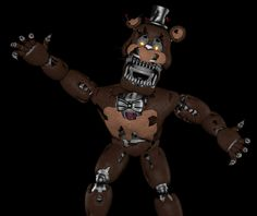 Nightmare freddy sfm Fnaf Characters, Fictional Characters, Fnaf Sister Location, Freddy Fazbear, Five Nights At Freddy's, Fallout Vault, 3d, Random Stuff, Friends
