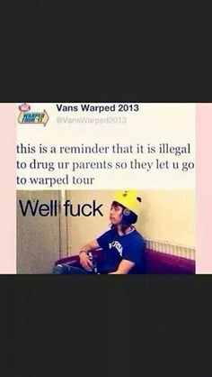 I'll probably never get to go coz I live in the uk but I love Vic's face Emo Bands, Music Bands, Rock Bands, Good Music, My Music, Warped Tour, Panic! At The Disco, Band Merch, Pierce The Veil