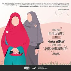 Ya manisnya imanmu tatkala teduh taat dalam menjaga kemuliaan.  Follow and Support @indonesiamenutupaurat  . .  #Muslimah #Hijab #Jilbab #Fashion #GerakanMenutupAurat #IndonesiaMenutupAurat . @posterdakwah