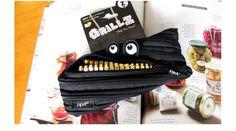 Zipit 2014 Pencil Pen Face Pouch Case Pocket Holder Bag School Supplies Zipper  #ZipIt