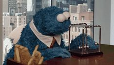 C is for...uh...C....cookie....is for...mmm...hold on, be right...there.