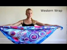 Add Some Style to that Scarf! 10 Ways to Wear it Around Your Neck - YouTube