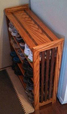 55 best shoe rack plans images shoe closet shoe rack on wood shoe rack diy simple id=63542