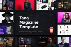 Magazine Tana - News Music Movie Blog Fashion HTML by themeton