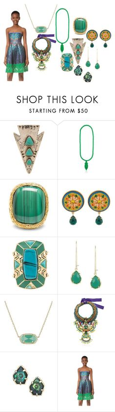 """style community"" by emmamegan-5678 ❤ liked on Polyvore featuring Turquoise + Tobacco, Mariah Rovery, Aurélie Bidermann, Dolce&Gabbana, House of Harlow 1960, Kendra Scott, Anita Quansah London and Cynthia Rowley"