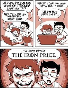 ASOIAF     The Iron Price