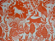 Evans Lichfield Rural Hare Cotton Blend High Quality Fabric Material *3 Sizes*