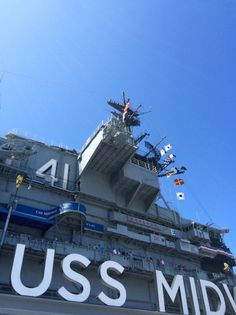 The USS Midway is named after the 1942 Battle of Midway #LosAngeles #USSMidway #California #USA #RTW #JulesVernex2