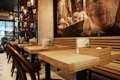 Kao Nekad Restaurant & Bakery by Slavica Djokovic, Novi Sad – Serbia » Retail Design Blog