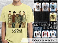 Kaos Super Junior Model Terbaru, Kaos Super Junior Terbaru