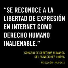 #Pinterest Cualquier ley debe respetar los derechos humanos y la libertad de expresión de todas las personas.