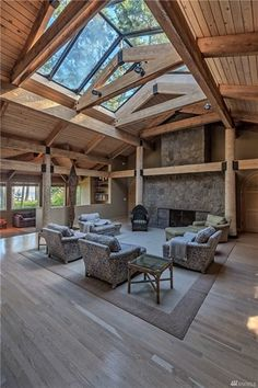 21 Trendy ideas for white wood floors ship lap White Wood Floors, Rustic Floors, Wood Architecture, Concept Architecture, Modern Windows, Ceiling Decor, Glass Ceiling, Great Rooms, House Plans