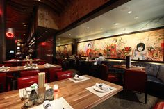 Decorating Attractive Japanese Restaurant Modern Design Wooden Floor Beautiful Wallpaper Stunning Decoration of Japanese Restaurant Modern