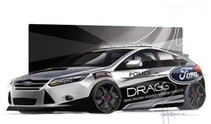 2014 Ford Focus ST By DRAGG - http://www.techiemagazine.com/2014-ford-focus-st-by-dragg/