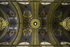 Baja synagogue ceiling