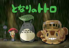 Tonari no Totoro Chibi by JC-790514 on deviantART