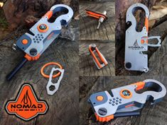 NO WAY you'll get Lost or Stranded with NOMAD Survival Multitool | Crowdfunding is a democratic way to support the fundraising needs of your community. Make a contribution today!