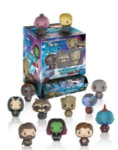 Guardians of the Galaxy Vol. 2 Pint Size Heroes Display Case:The larger than life characters of Guardians of the Galaxy Vol. 2 are now Pint Sized Heroes with a Gardians Of The Galaxy, Guardians Of The Galaxy Vol 2, Akira, Marvel Dc, Mini Figure Display, Funko Toys, Funko Mystery Minis, Harry Potter, Galaxy 2