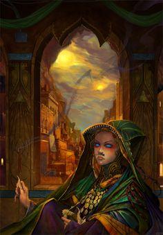 Dune - St Alia of the Knife by *gorrem on deviantART