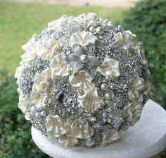 Vintage Edwardian wedding bouquet Deposit on made by annasinclair, $75.00