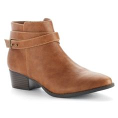 LC Lauren Conrad Women's Strappy Ankle Boots
