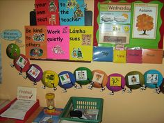 Rules and visual timetable by Poppies and lilies, via Flickr