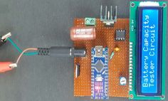 18650 Lithium Battery Capacity Tester