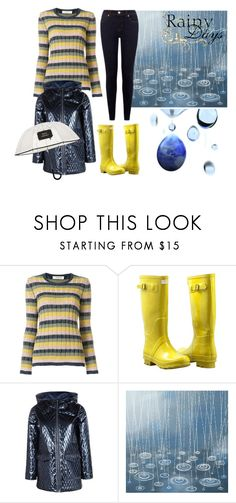 """Rainy Days"" by nicolesynth ❤ liked on Polyvore featuring Valentino, Forever Young, Boohoo and rainydays"